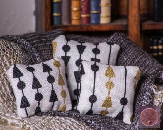 Miniature Pillows Modern Arrows-2073